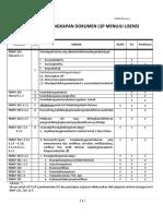 00_Daftar Kelengkapan Dokumen Menuju Lisensi - Elektroteknika 2015