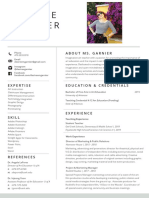desiree resume