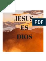 Jesus Es Dios