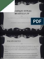 Modulo IV Trabajo Final. servicio profesional docente. nivel secundaria