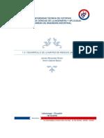 Desarrollo de La Matriz de Riesgos Laborales
