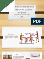 Prácticas de cultura física y hábitos del cuidado.pptx