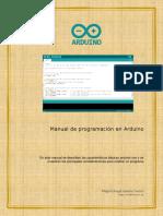 Manual de Programación Arduino UNO