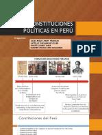 Las Constituciones Politicas en Peru