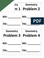 Geometry Grouping Charts.docx