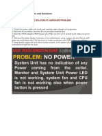 Common PC Problems and Solutions.docx