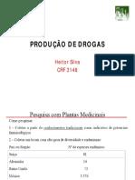 Produção de Drogas