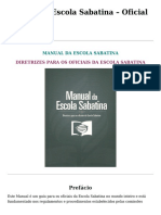 Manual Da Sabatina