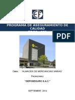 Programa de Calidad - DEPOSEGURO.doc