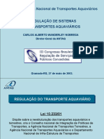 Regulação de sistemas de transporte Aquaviario