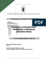1 Seminario Introductorio Modalidad Distancia
