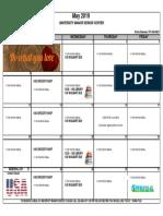 5 - 2019 May Events Calendar - University Manor
