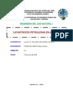 Informe 7 - Catastrofes Petroleras