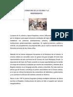 Literatura de La Colonia y Laindependencia Noveno 2019