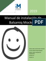 Manual de Instalacion Balsamic