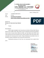 Surat Permohonan Penambahan Sistem KSO, HiDok Dan IMR