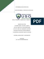 Informe de Numeros Ordinales y Cardinales