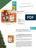 Dossier de presse Hop'Toys Noël