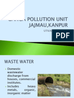 Ganga Pollution Unit Jajmau,Kanpur