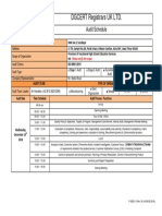 F-0020-1 Rev 00 - Audit Schedule SMK KAL 2 Surabaya, 9K Rev00