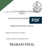 Trabajo Final Benemerita Universidad Autónoma de Puebla