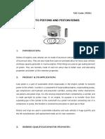 Auto Pistons and Piston Rings