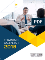 Aztech Training Plan 2019