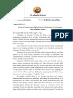 Sample Title Proposal Format