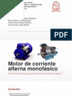 Motor de corriente alterna monofásico