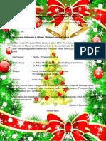 Undangan Natal Tahun 6