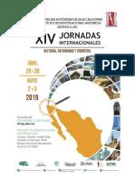 Programa XIV Jornadas Internacionales 2019