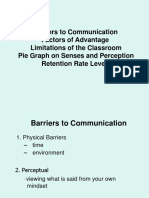 Barriers to Communication1