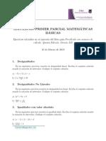 Soluciones Simulacros Primer Parcial Math Básicas
