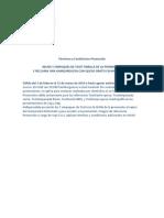 Terminos y Condiciones Promocion