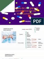 Reglas de Oro Para La Administración de Medicamentos