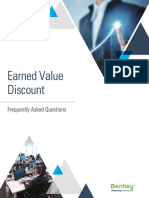 Earned Value Discount FAQ