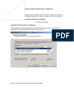 Bloquear arquivos por extensão usando File Server Resource Manager