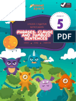 Phrases, Clauses and Jumbled Sentences