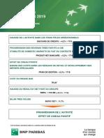 BNP Paribas - communiqué de presse (02/05/2019)