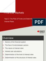 Topic 2 - The Flow of Funds and Determination of Interest Rates.pdf
