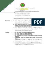 SK Penetapan Mencegah Akses Penggunaan Rekam Medis