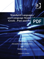 Standard Languages and Language Standards_ Greek, Past and Present-Ashgate (2009).pdf