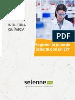 El registro de la jornada en Selenne ERP  Industria Química