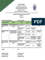 Lrmds Action Plan 2018