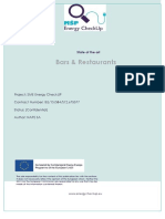 Energy Usage for Restaurants