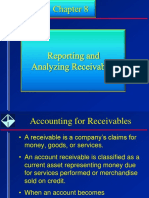 Chapter 7 - Accounting for Receivables