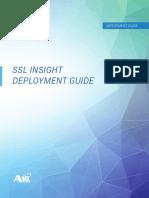 A10 SSL Insight Deloyment Guide
