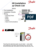 Danfoss VSD Connections