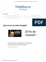 ¿Qué Era La Ley Glass-Steagall_ - TalkingOfMoney.com - Revista Financiera y de Inversión
