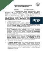 CONVENIO Suykutambo Región Electro